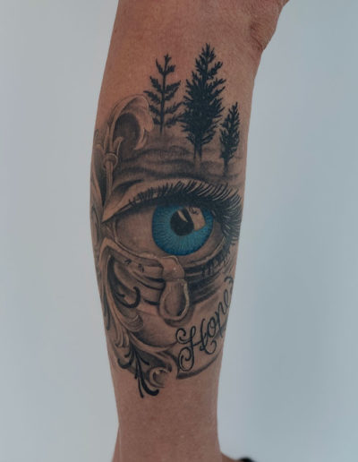 Tattoo of an eye