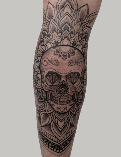 Tattoo op arm